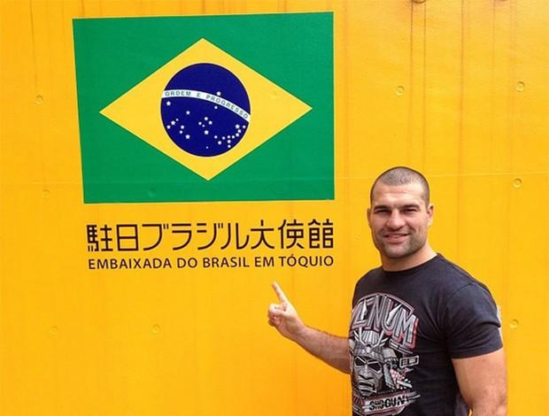 Shogun revive los tiempos del Pride con el viaje a Japón por invitación de la UFC
