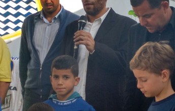 Filho de Pelé, Edinho é apresentado como técnico do Água Santa