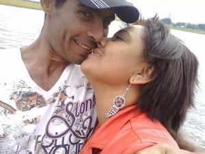 José Souza e Francisca Sérgio em foto de agosto de 2014 (Foto: Reprodução/Facebook)
