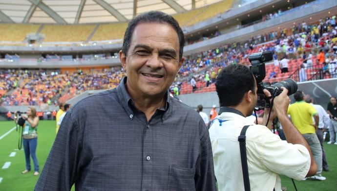 Nacional x Remo - Francisco Diá na Arena da Amazônia (Foto: Isabella Pina)