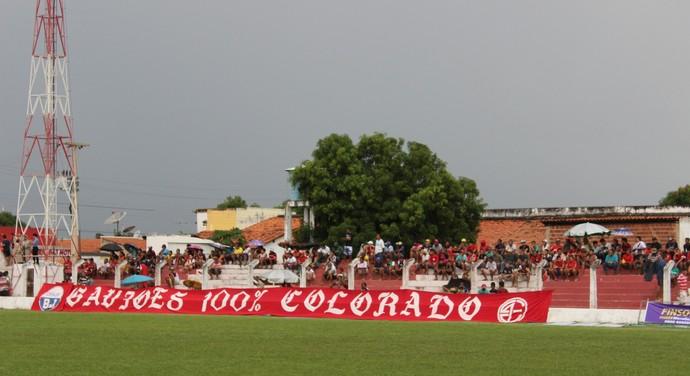 Arena Ytacoatiara, em Piripiri (Foto: Josiel Martins)