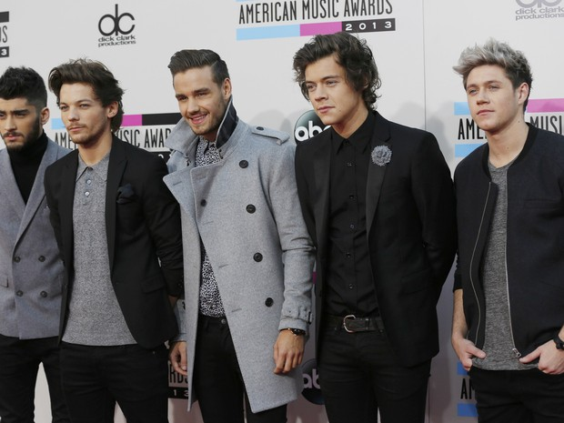 One Direction no American Music Awards em Los Angeles, nos Estados Unidos (Foto: Mario Anzuoni/ Reuters)