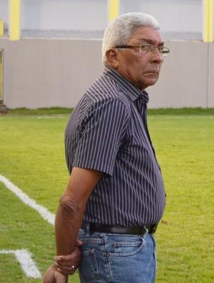 Givanildo Oliveira, técnico do Treze (Foto: Renata Vasconcellos / GloboEsporte.com/pb)