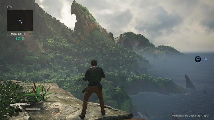 Uncharted 4 tem jogabilidade rápida e novidades de jogabilidade (Foto: Reprodução/Victor Teixeira)