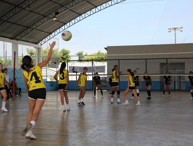 Disputas acirradas marcam fase final das Olímpiadas Escolares de Rondônia (Foto: Shara Alencar/GLOBOESPORTE.COM)