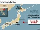 Forte terremoto atinge o Japão e provoca pequeno tsunami