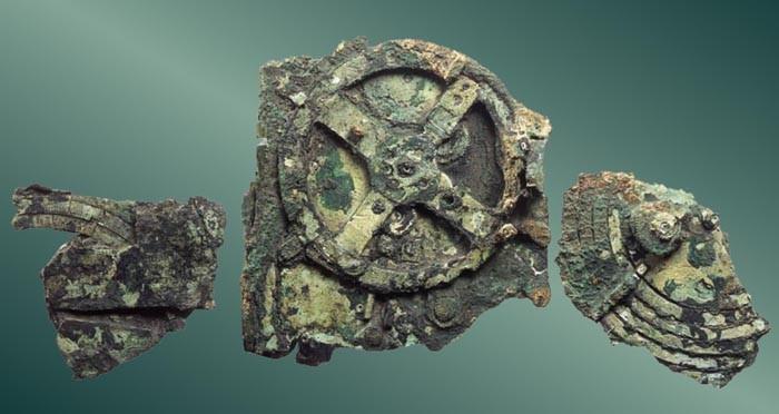 Mecanismo de Antikythera (Foto: Divulgao)
