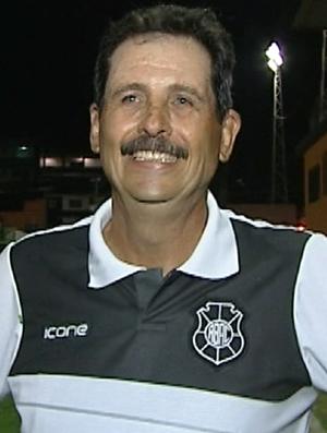 Duílio Dias, técnico do Rio Branco-ES (Foto: Reprodução/TV Gazeta Sul)