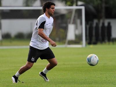 victor ferraz santos treino (Foto: Ivan Storti/Divulgação Santos FC)