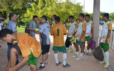 Tapajós sub-17 (Foto: Weldon Luciano/GloboEsporte.com)