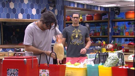 Brothers arrumam compras do Tá com Tudo