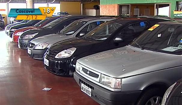 Bom Dia Paraná carros semi-novos (Foto: Reprodução/ RPC TV)