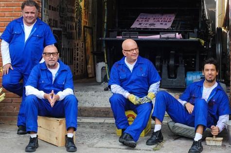 Leo Jaime, Xico Sá, Marcelo Tas e João Vicente de Castro (Foto: Márcia Alves)