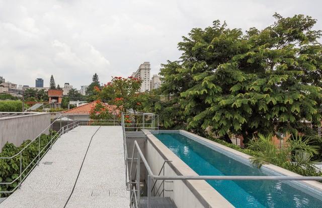 O rooftop é a área mais usada nos fins de semana, com raia de 17 metros (Foto: Tuca Reines)