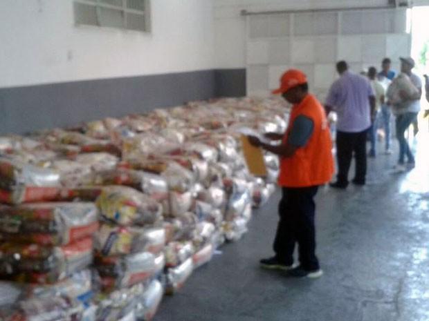 Salvador recebe doações do Ministério da Integração (Foto: Divulgação/Codesal)