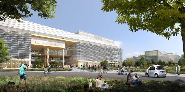 Google revela planos para novo escritório na Califórnia  (Foto: Divulgação)