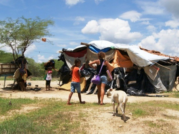 Déficit habitacional considera residência improvisadas e sem oferecer dignidade (Foto: Agência Diário)