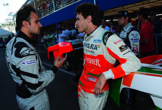 Vitantonio Liuzzi e o atual campeão Jules Bianchi reforçam a lista de competidores 'gringos' (Foto: Duda Bairros / Divulgação)