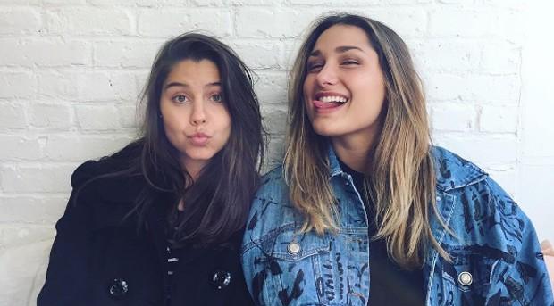 Sasha com a amiga Luma Antunes (Foto: Reprodução/Instagram)