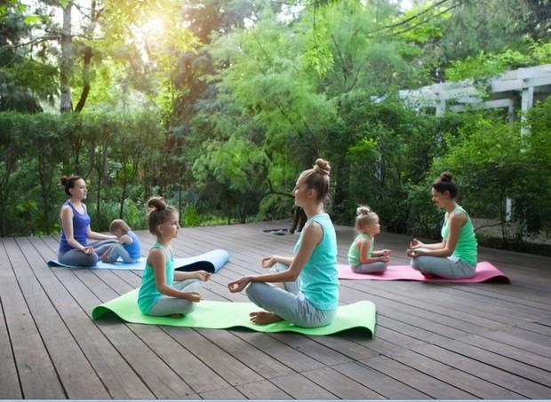meditação meditar relaxar ioga (Foto: thinkstock)