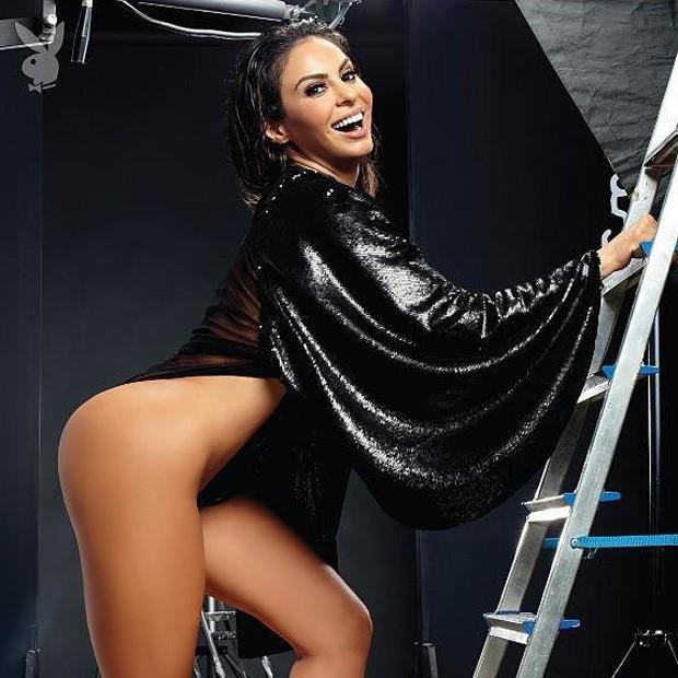 Alinne Rosa (Foto: Divulgação/Vitor Pickersgill/Playboy)