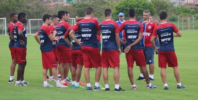 Bahia treina no campo (Foto: Divulgação / E.C. Bahia)