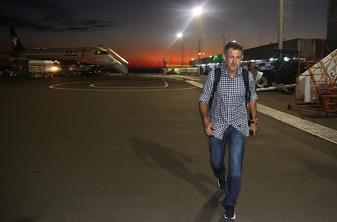 Juan Carlos Osorio São Paulo (Foto: Rubens Chiri /  Site oficial SPFC)