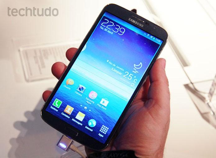 Galaxy Mega 6.3 (Foto: Foto: Allan Melo/TechTudo)