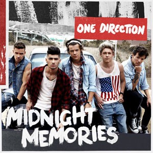 Capa de 'Midnight memories', do One Direction (Foto: Divulgação)