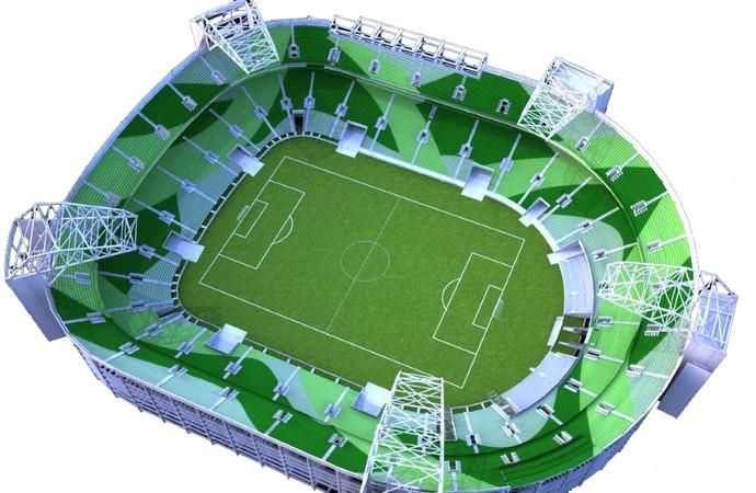 Visão de como ficará a Allianz Arena  (Foto: Divulgação/WTorre)