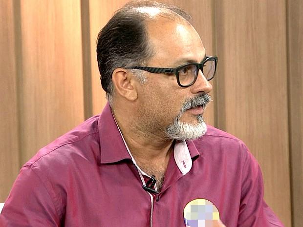 Valdeny Barros, candidato a prefeito de São Luís (Foto: Reprodução/TV Mirante)