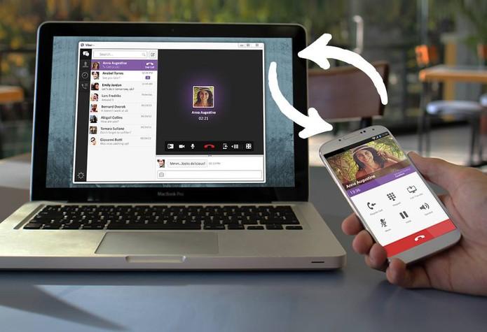 Viber no computador (Foto: Divulgação/Viber)