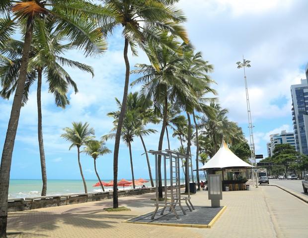 Praia de Boa Viagem (Foto: Wagner Ramos / G.LAB)