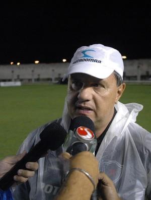 Técnico do Botafogo-pb, Marcelo Vilar, Campeonato Brasileiro, Série D,  (Foto: Richardson Gray / Globoesporte.com/pb)