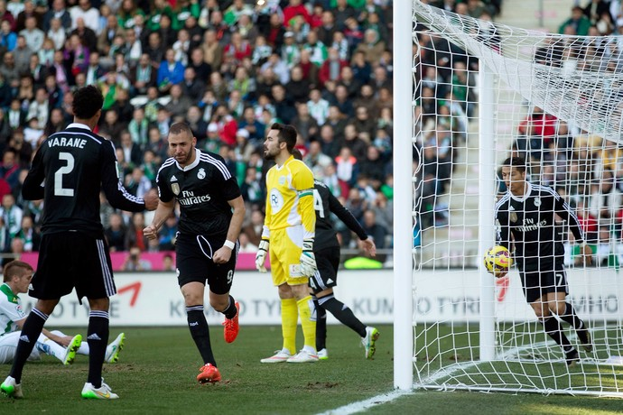 benzema gol cordoba x real madrid   (Foto: Getty Images)