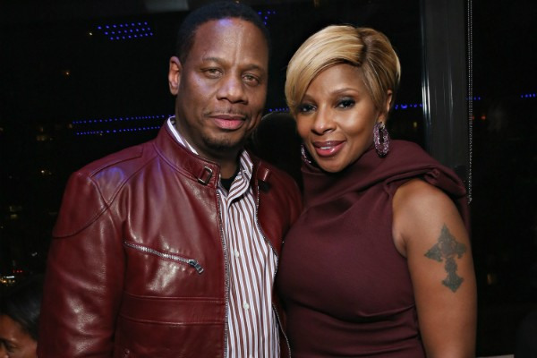 Kendu Isaacs e  Mary J. Blige (Foto: Getty Images)