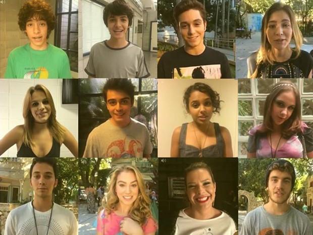 Atores respondem o que 'Ainda é cedo' na vida deles (Foto: Malhação / TV Globo)