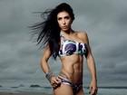 Veja fotos de Bella Falconi, brasileira que mora nos EUA e faz sucesso exibindo músculos no Instagram