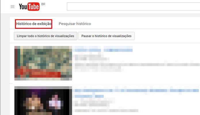 Exclua todos os vídeos do seu histórico do YouTube em apenas um clique (Foto: Reprodução/Paulo Alves)