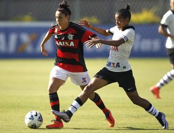 Flamengo futebol feminino x Corinthians futebol feminino (Foto: Gilvan Souza/Flamengo)