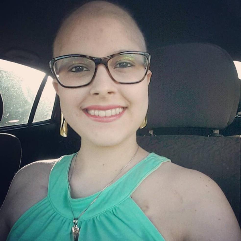 Mayara fazia tratamento contra uma síndrome rara  (Foto: Mayara Gromboni/ Arquivo pessoal )