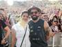 Mateus, dupla de Jorge, curte show de Duran Duran com a mulher