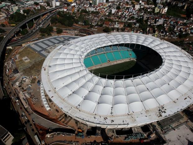 Fonte Nova em 27/02/2013 (Foto: Elói Corrêa / Governo da Bahia / Divulgação)