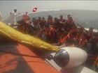 Mais de 11 mil imigrantes são salvos pela Guarda Costeira italiana em 2 dias