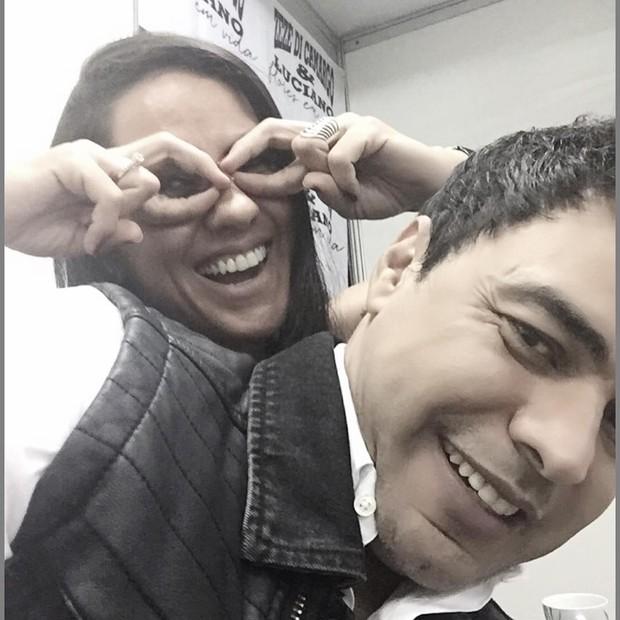 Zezé com a mulher (Foto: Reprodução/Instagram)