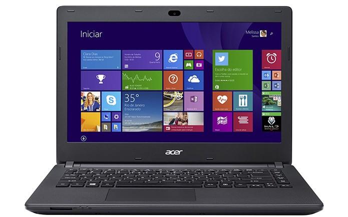 Notebook quad-core Acer Aspire ES1  (Foto: Divulgação/Acer)