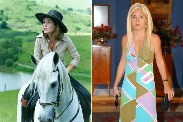 Em Coração de Estudante (2002), ela fez o papel de Amelinha; já em Kubanacan, deu vida a Lola (Foto: CEDOC Globo)