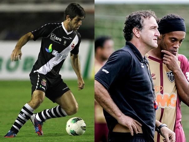 Jogo entre Vasco e Atlético-MG será exibido para os telespectadores mineiros (Foto: Marcelo Sadio / Site Oficial do Vasco / Bruno Cantini / Site Oficial do Atlético-MG)