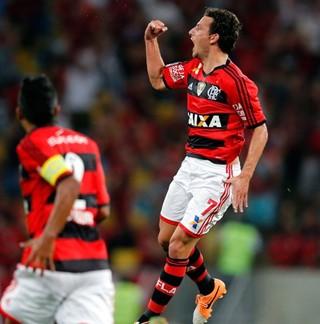Elano, do Flamengo, participa do Corujão do Esporte (Foto: Divulgação)