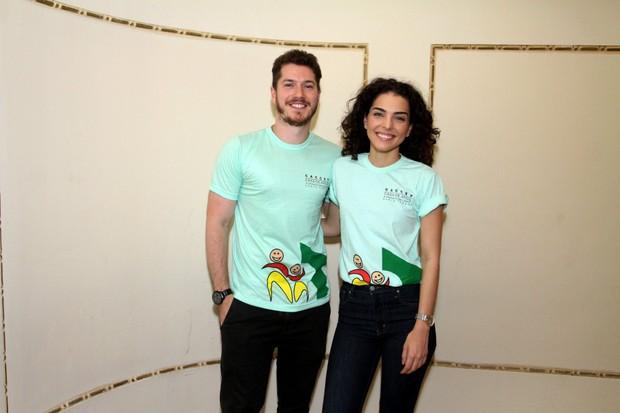 Caio Paduam e Juliana Lohmam (Foto:   /Brazil News)